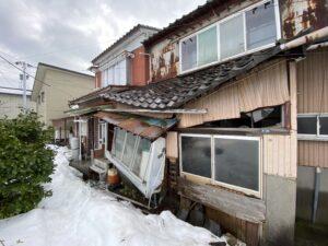 空き家 倒壊